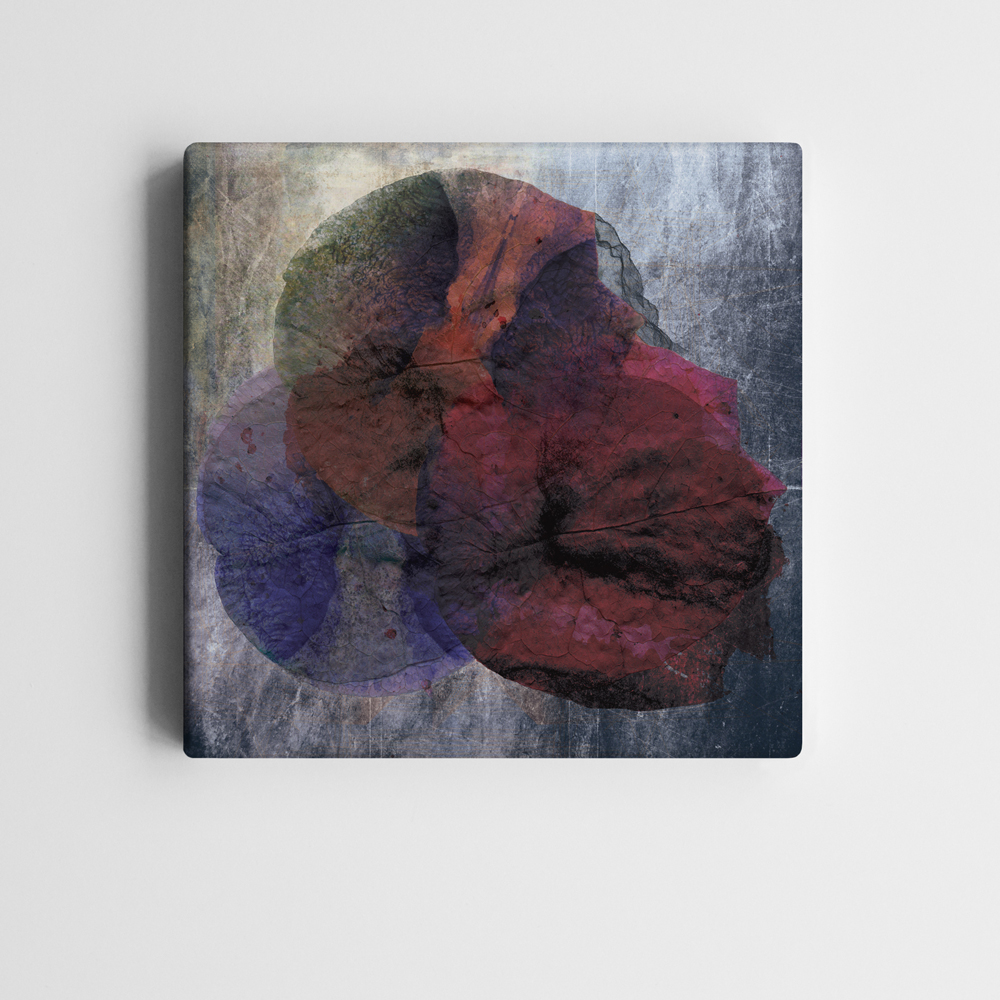 BricolArts - MadeInRealtime - Print on canvas - Monkey Skull