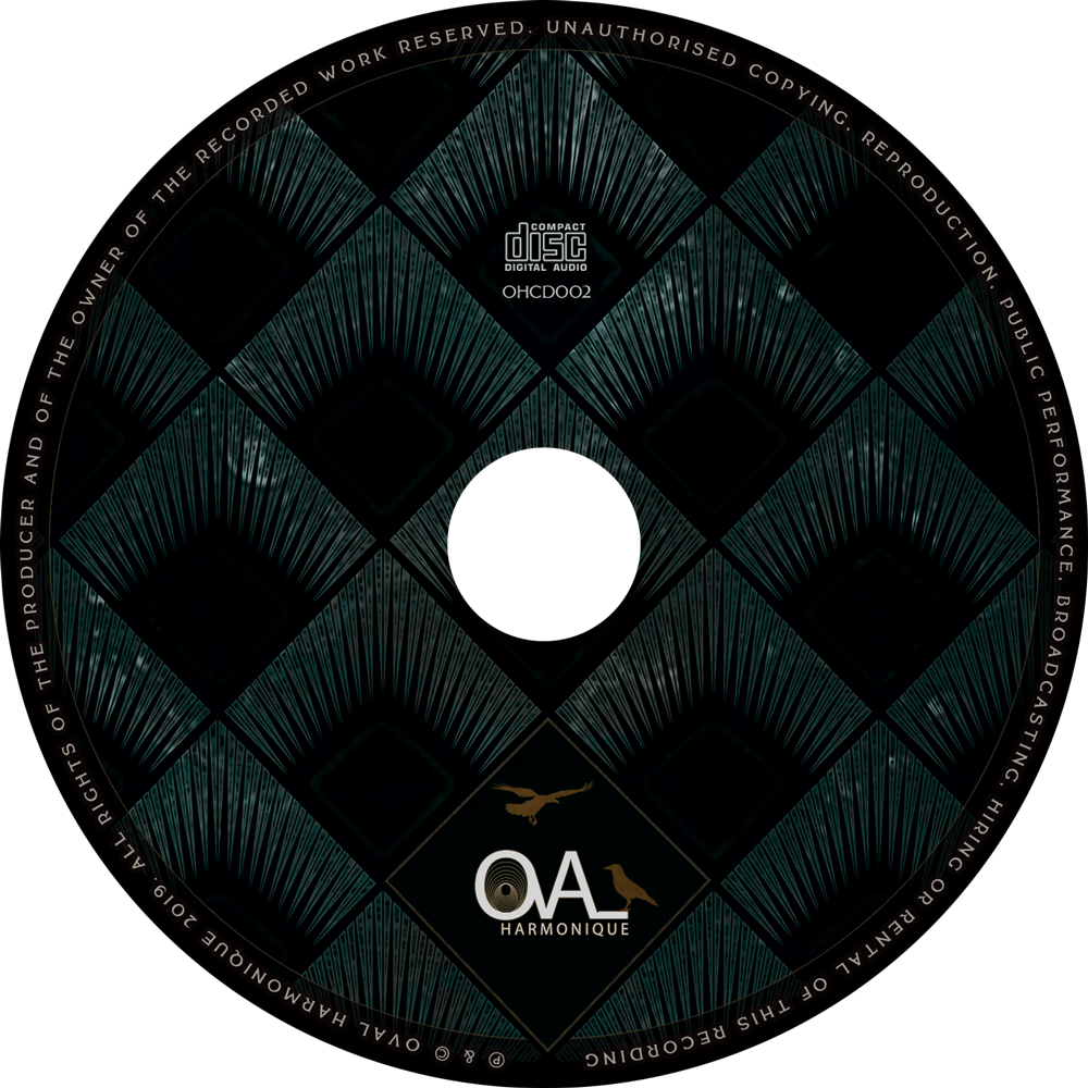 OHCD002 - CD - Six Fingered People - The Voluptuous Dark (Oval Harmonique 2019)