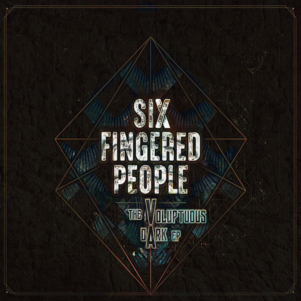 OHCDIG002 - Front - Six Fingered People - The Voluptuous Dark (Oval Harmonique 2019)
