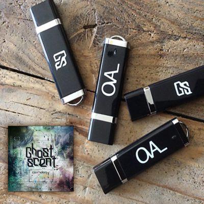 OHUSB001 - Ghostscent - Cosmology EP (Oval Harmonique)