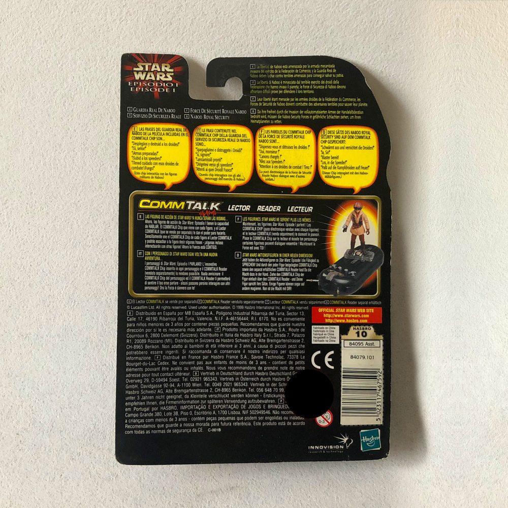 Exclusive - Star Wars - Hasbro - Naboo Royal Security - Back