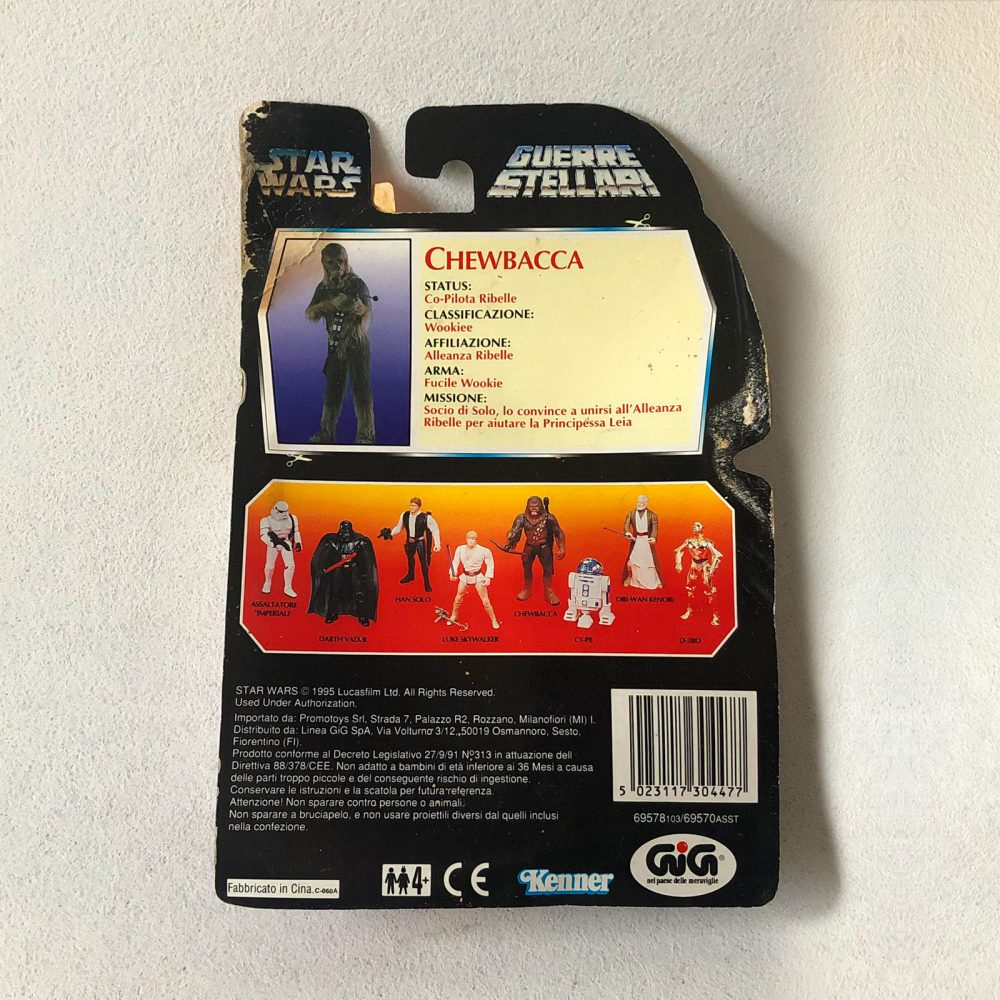 Exclusive - Star Wars - Kenner - Chewbacca - Back