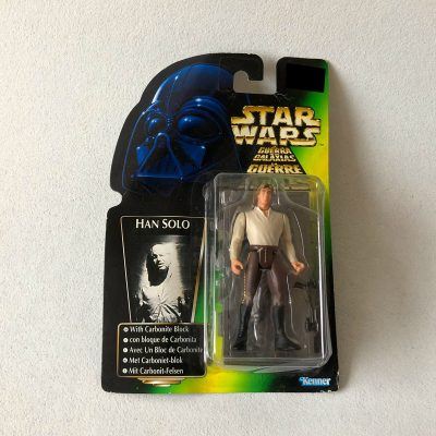 Exclusive - Star Wars - Kenner - Han Solo - Carbonite Block - Front