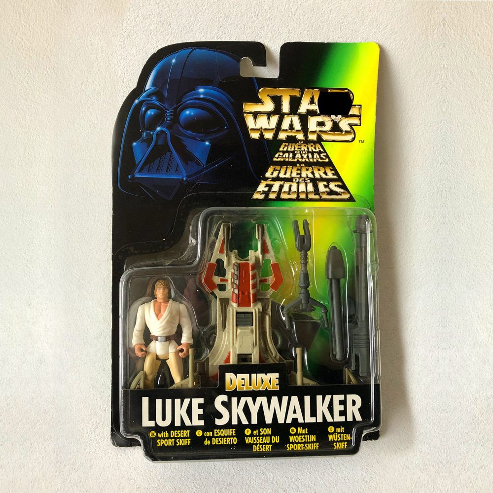 Exclusive - Star Wars - Kenner - Luke Skywalker - Deluxe - Front