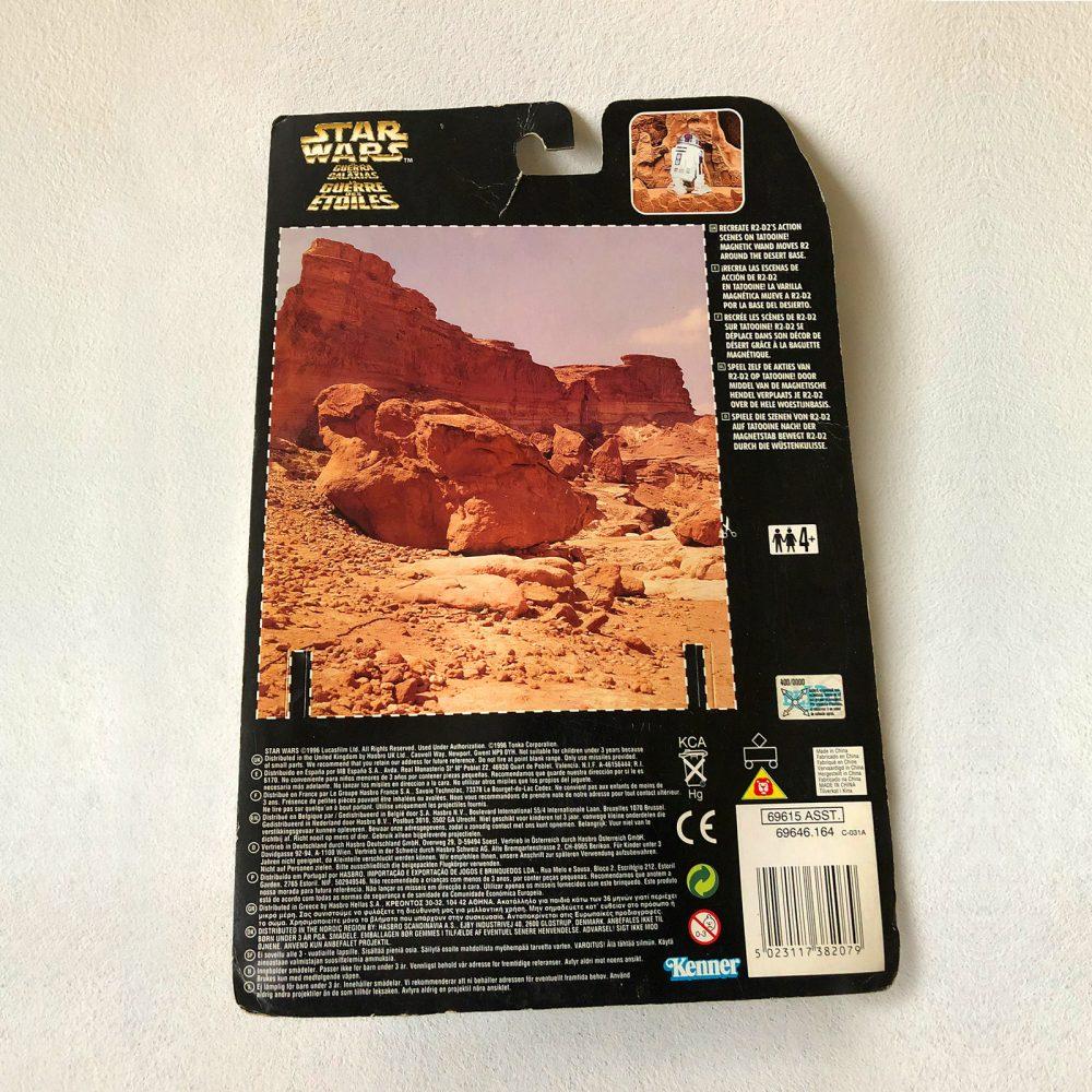 Exclusive - Star Wars - Kenner - R2-D2 - Back