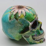 BricolArts - Dazerik - Skull - Día de los Muertos Skull - 001