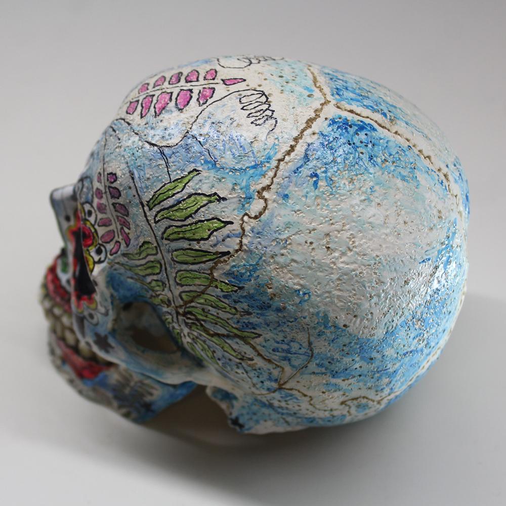 BricolArts - Dazerik - Skull - Día de los Muertos Skull - 005