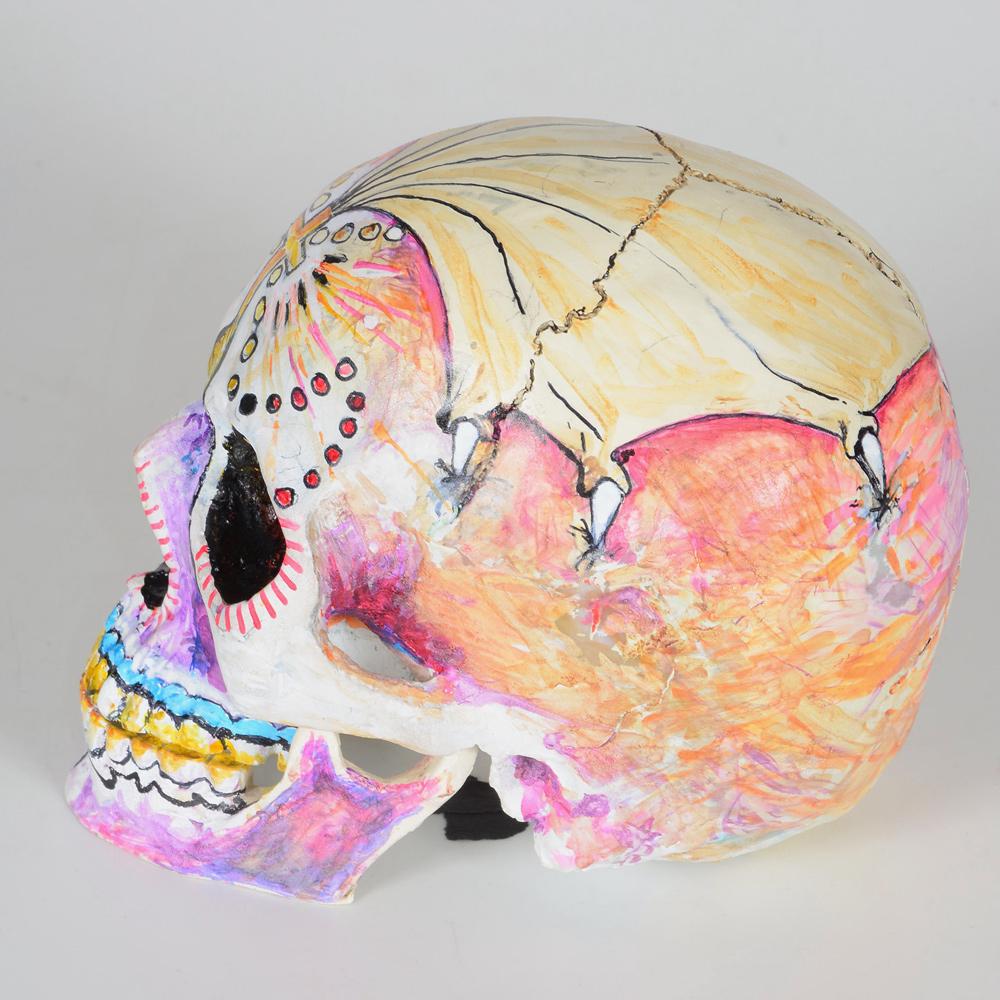 BricolArts - Dazerik - Skull - Día de los Muertos Skull - 006