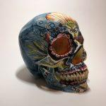 BricolArts - Dazerik - Skull - Día de los Muertos Skull - 007