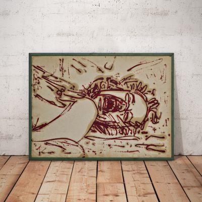 BricolArts - Pokke - Canvas - Painting - Assault