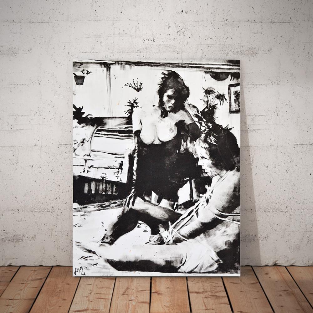BricolArts - Pokke - Canvas - Painting - Born Into Bondage