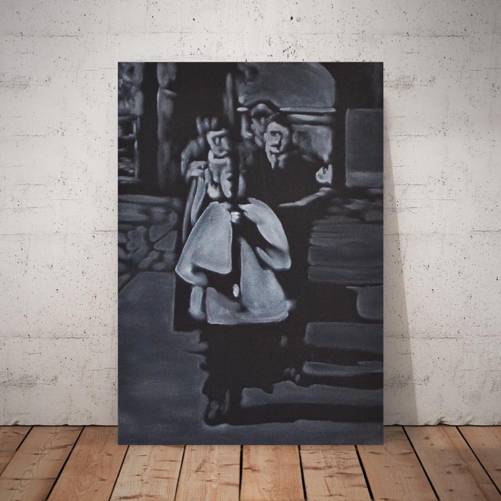 BricolArts - Pokke - Canvas - Painting - Funeral II