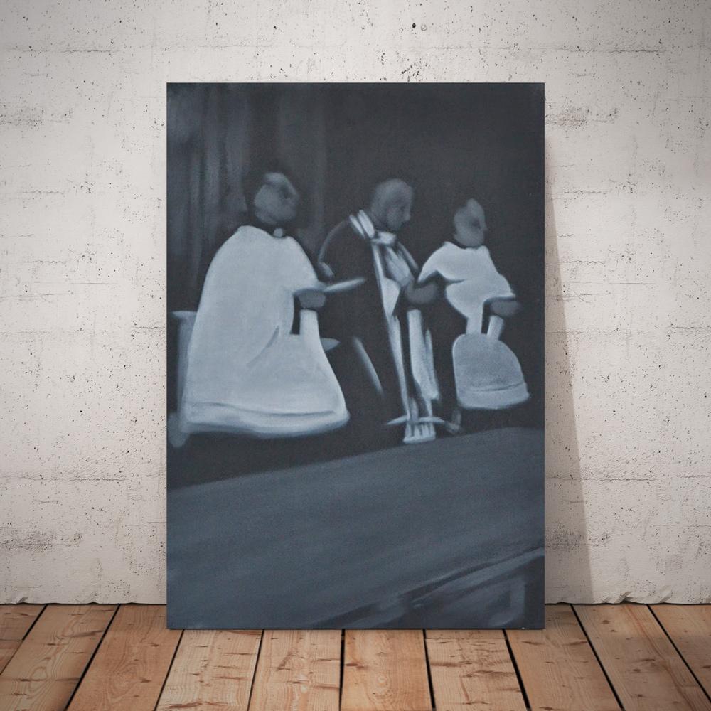 BricolArts - Pokke - Canvas - Painting - Funeral III